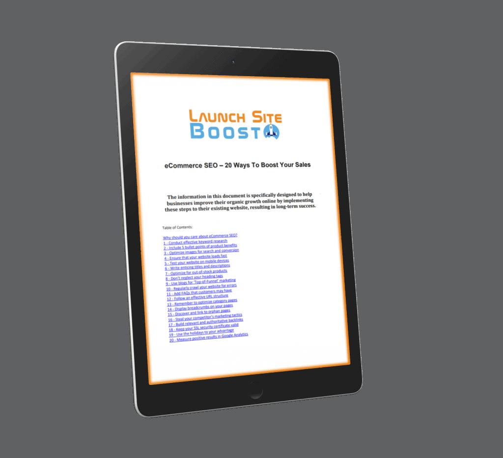 eCommerce SEO Tips Download